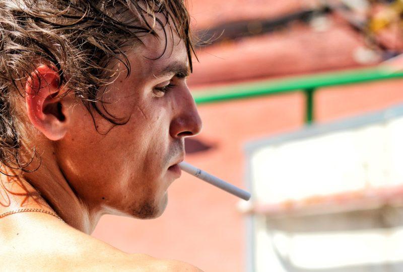 タバコの影響